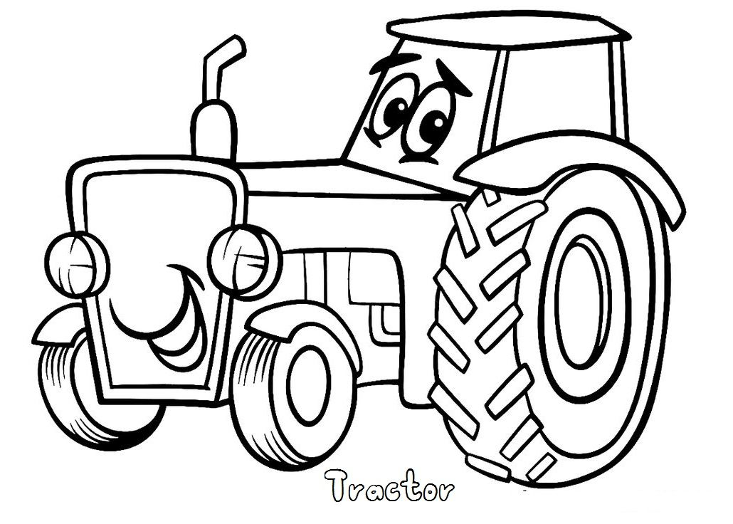 Kleurplaten Tractor Pulling.Print Out Tractor Coloring Pages Kleurplaten Tractor