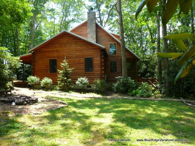 Tranquil Woods Linville Nc Blue Ridge Parkway Grandfather Mountain Rental Cabin Nc Cabin Rentals Cabin Rentals