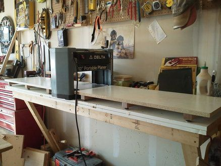 Spectacular QEC Planer Infeed Outfeed Tables http ewoodworkingprojects wooden