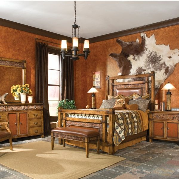 Love It. So Western. I Never Thought To Hang A Cowhide On