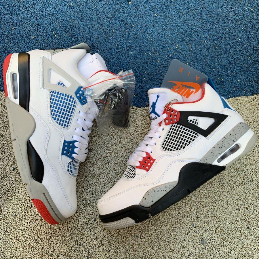 Air Jordan 4 What The For Sale Air jordans, Jordan 4