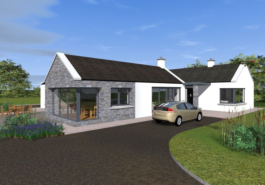 Traditional Style Bungalow With Contemporary Features Bungalow Exterior Modern Bungalow Exterior Modern Bungalow House Plans
