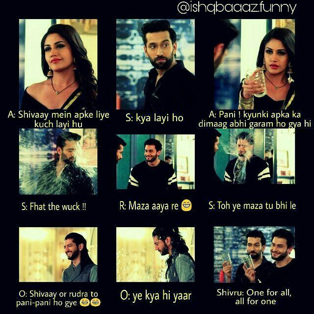 Pin By Aiza Khan On Ishqbaaez Some Funny Jokes Funny Video Memes Friends Quotes Funny