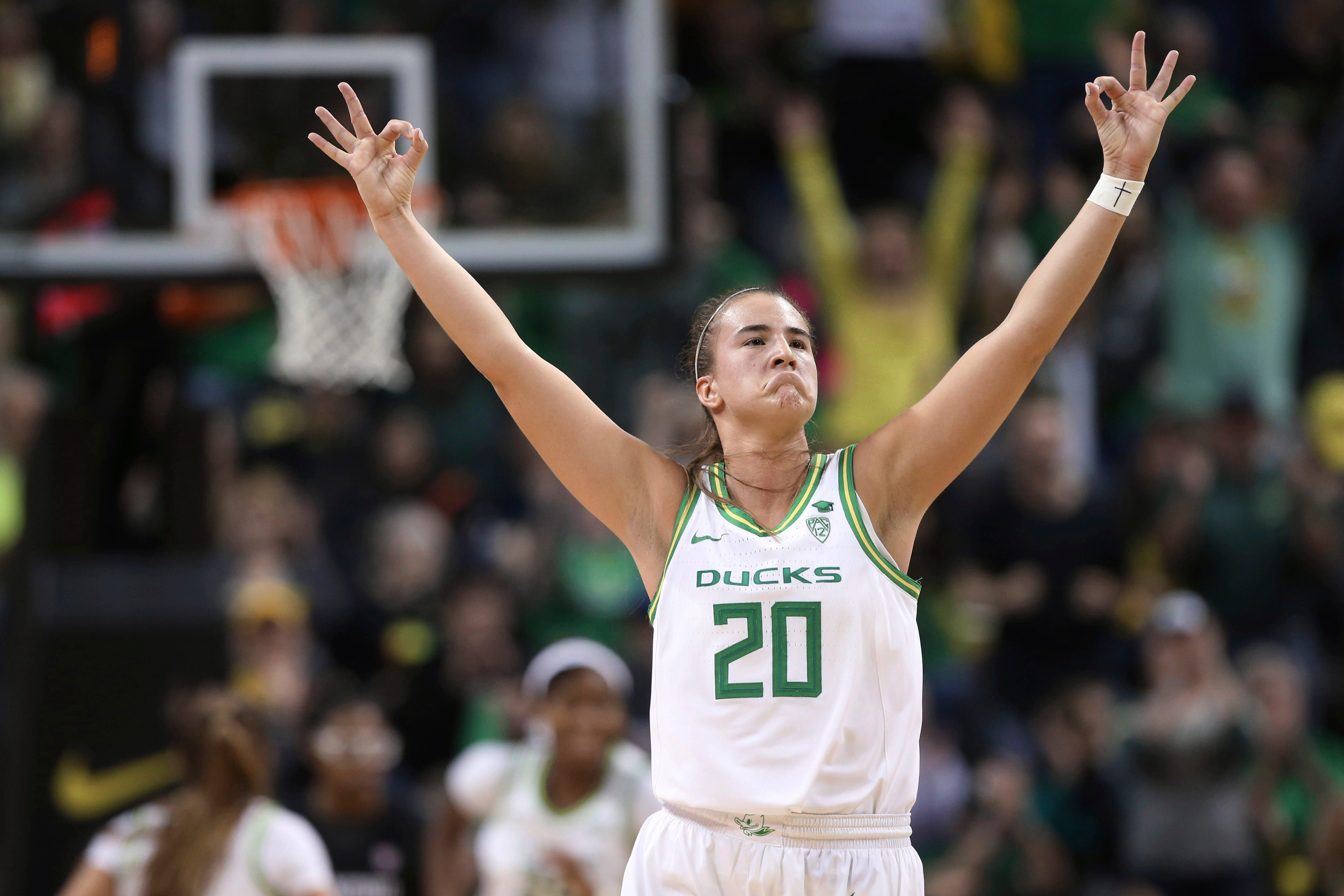 New York Liberty select Sabrina Ionescu with No. 1 pick in