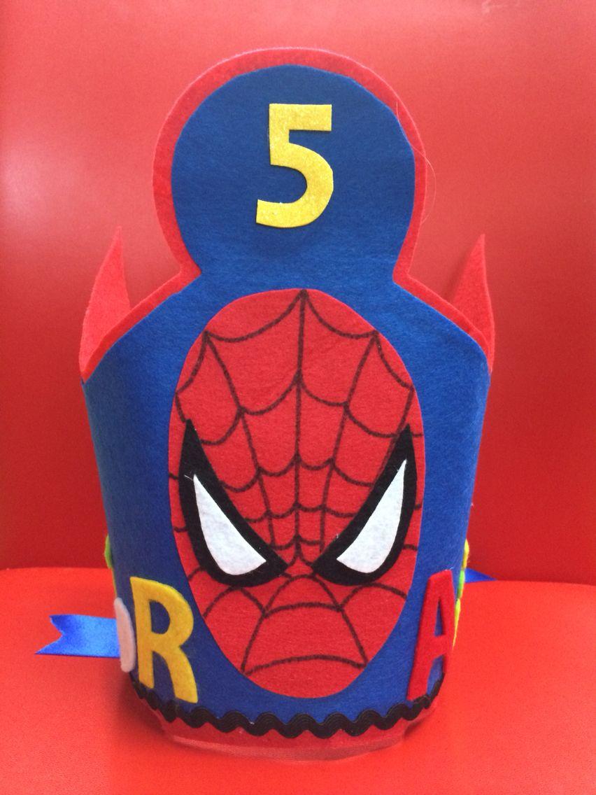 Corona Spiderman | spiderman birthday party | Pinterest | Corona ...