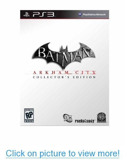 Batman: Arkham City Collector's Edition for Playstation 3
