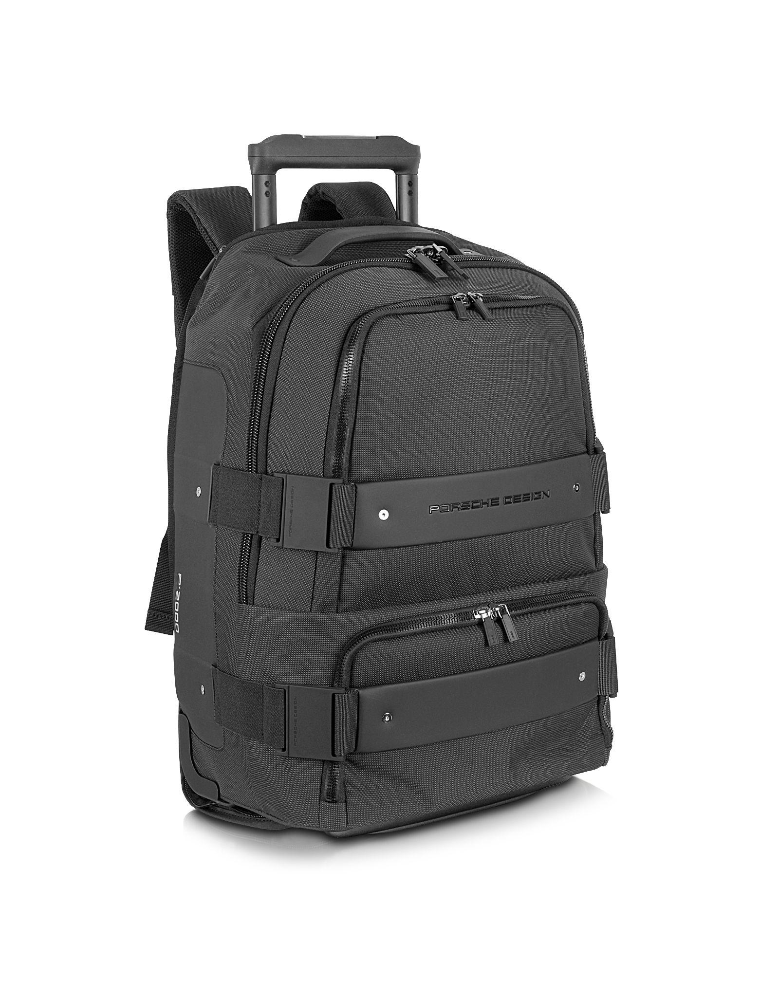 e877e18743 Porsche Design Cargon 2.5 - Black Backpack Carry On Trolley at FORZIERI