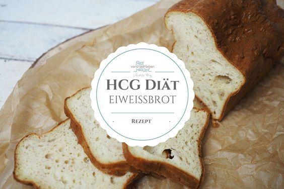 Brot für die strenge Phase der hCG Diät - Eiweißbrot Rezept   - Health and fitness - #Brot #Der #Diä...