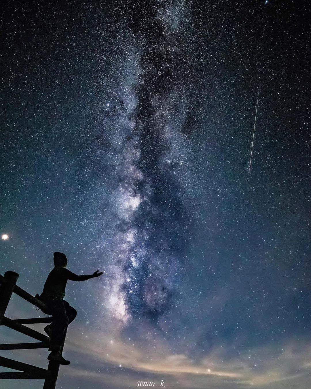 2019 05 28 今年は流星群、見れるかな🤔🌌🌠 📷2018 08 12🗾撮影場所