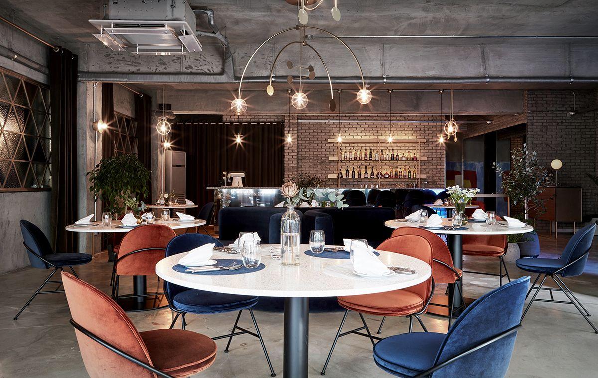 CHANOU FRENCH BISTRO / Bistro, Interior Design on Behance ...