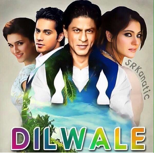 Manma Emotion Jaage Re Mp3 Full Song Download: Dilwale Movie Poster The News Track Varun