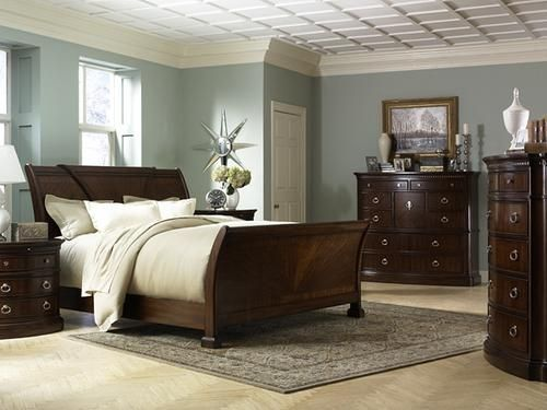 what color to paint bedroom with dark furniture