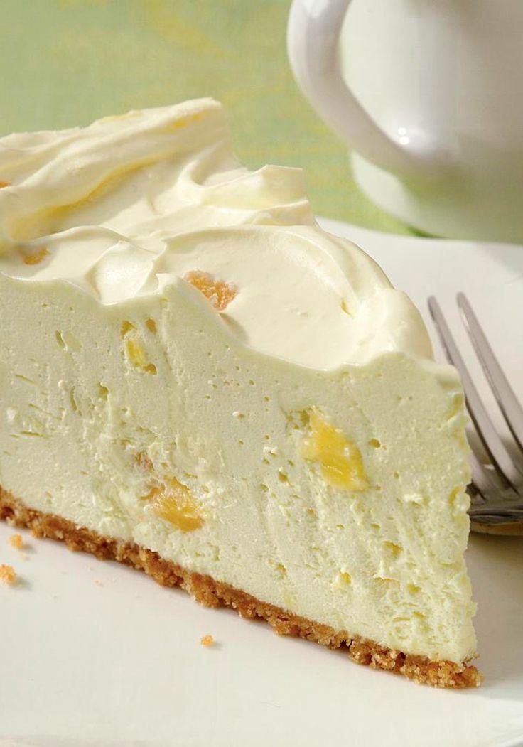 Pineapple Cheesecake - Cocina Adicto