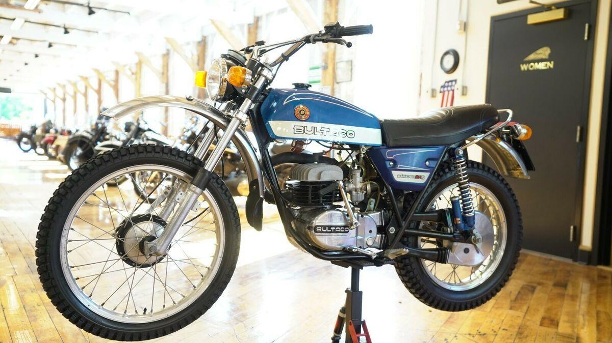 1976 Bultaco Sd350 Matador Vintage Motorcycle For Sale Via Rocker Co Brat Bike Cafe Racer Motorcycle