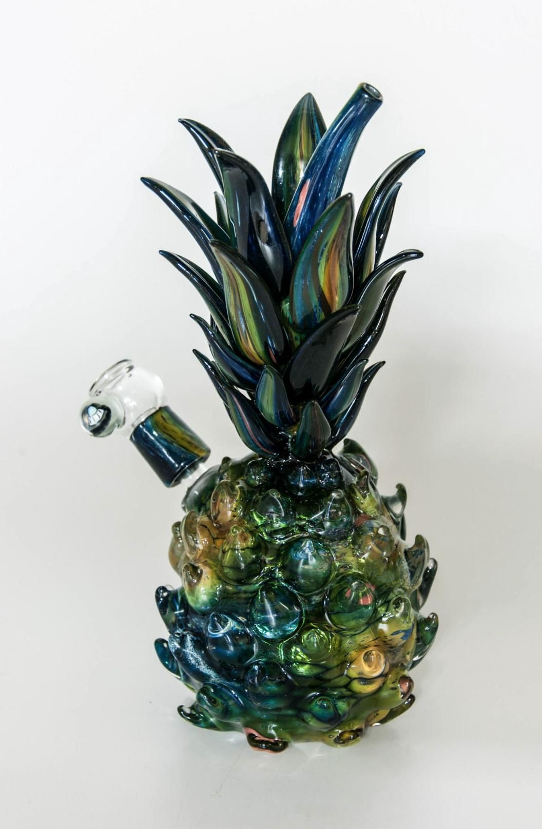 pineapple bong weed glass dope smoking progress coole bongs kiffen und unkraut. Black Bedroom Furniture Sets. Home Design Ideas