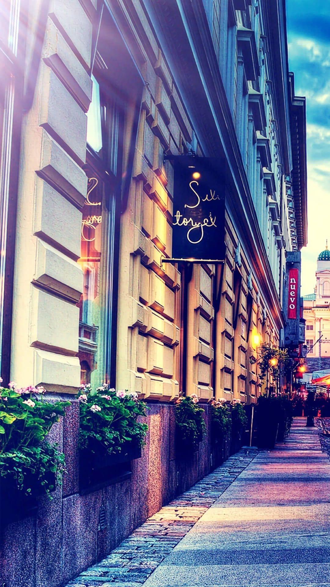 人気104位 おしゃれな街並 綺麗 景色 風景の壁紙 風景