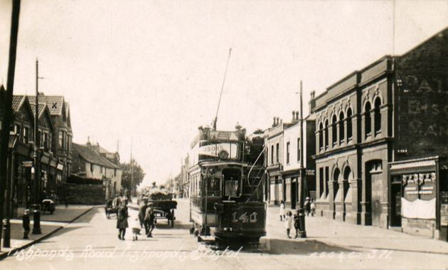 Fishponds Road 1900s.