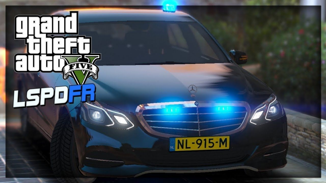 Mercedes Benz Unmarked Police | GTA 5 LSPDFR Day 3