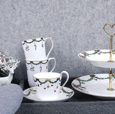 royal copenhagen star fluted christmas weihnachtsgeschirr. Black Bedroom Furniture Sets. Home Design Ideas