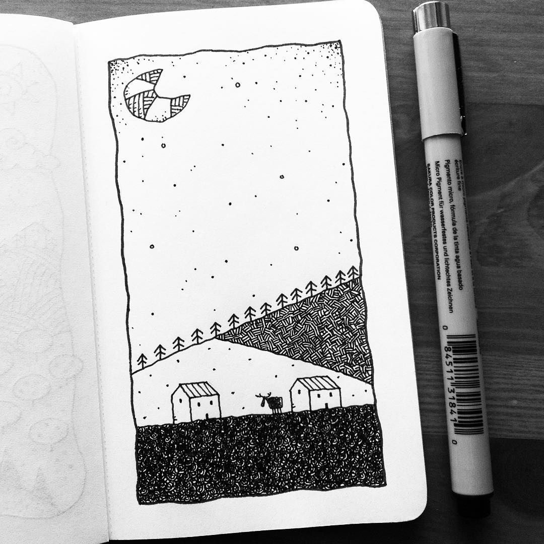 квартиру картинки идеи для скетчбука черной ручкой легко откровенное