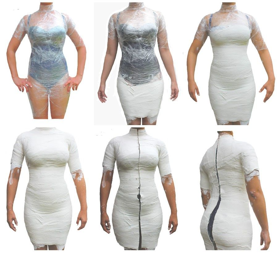 A body form should have your measurements and nothing more
