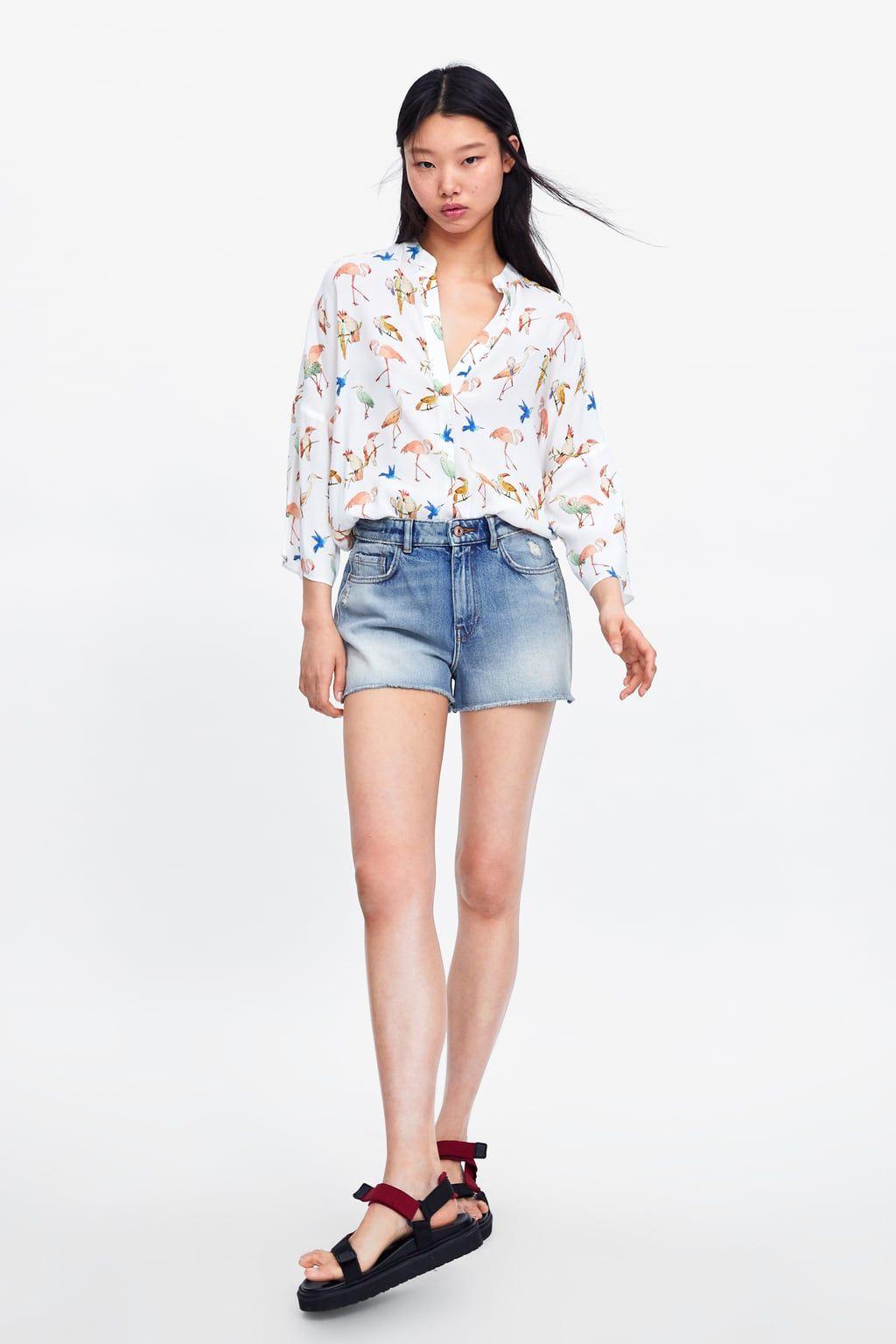 c5d00f99617 Animal print shirt in 2019 | Zara | Animal print shirts, Shirts ...