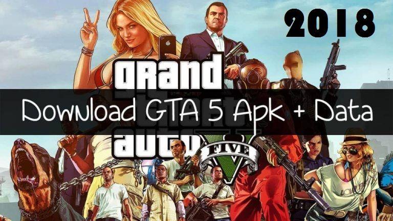 Gta 5 Apk Data For Android Full Game Download Gta 5 Game Download Free Gta
