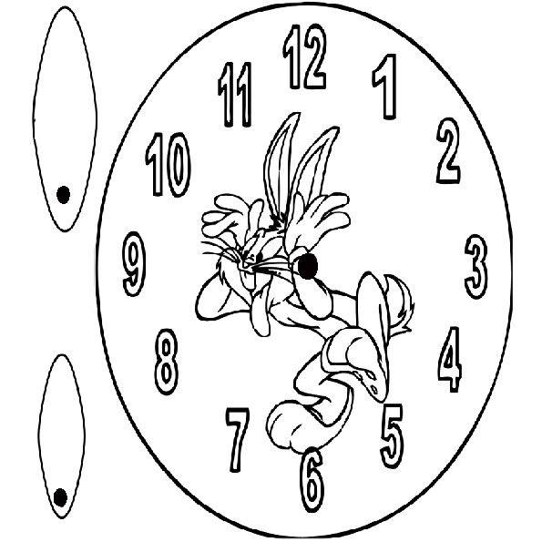Ausmalbilder Ausschneiden Uhr 240 Malvorlage Uhr Ausmalbilder ...