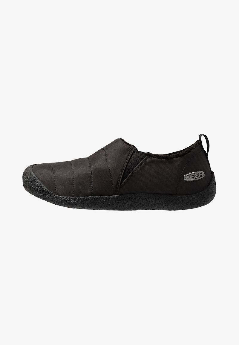 Keen Howser Ii Obuwie Do Biegania Turystyka Black Steel Grey Slip On Sneaker Black Steel Black