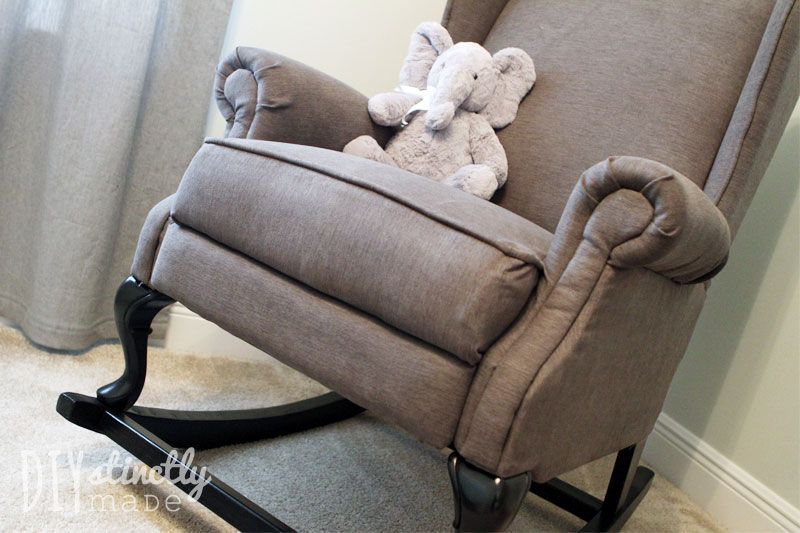 Diy pottery barn rocking chair with images pottery
