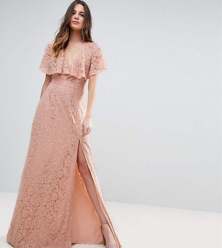 ASOS Tall ASOS TALL Lace Open Back Maxi Dress #affiliate ...