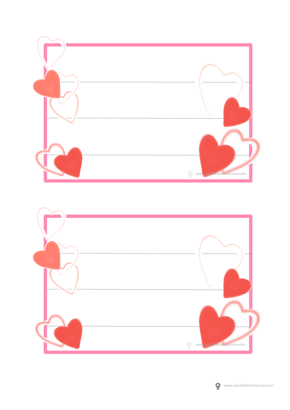 Valentines Day Writing Insert For Cards Free Printable Valentines Day Templat Free Printable Valentines Cards Free Valentines Day Cards Valentine Card Template