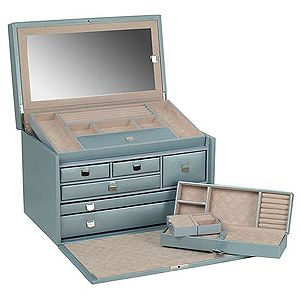 Wolf Designs London Collection $480 Large Jewelry Box