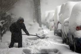 Resultado de imagen para imagenes de la nevada del sabado en washington y new york