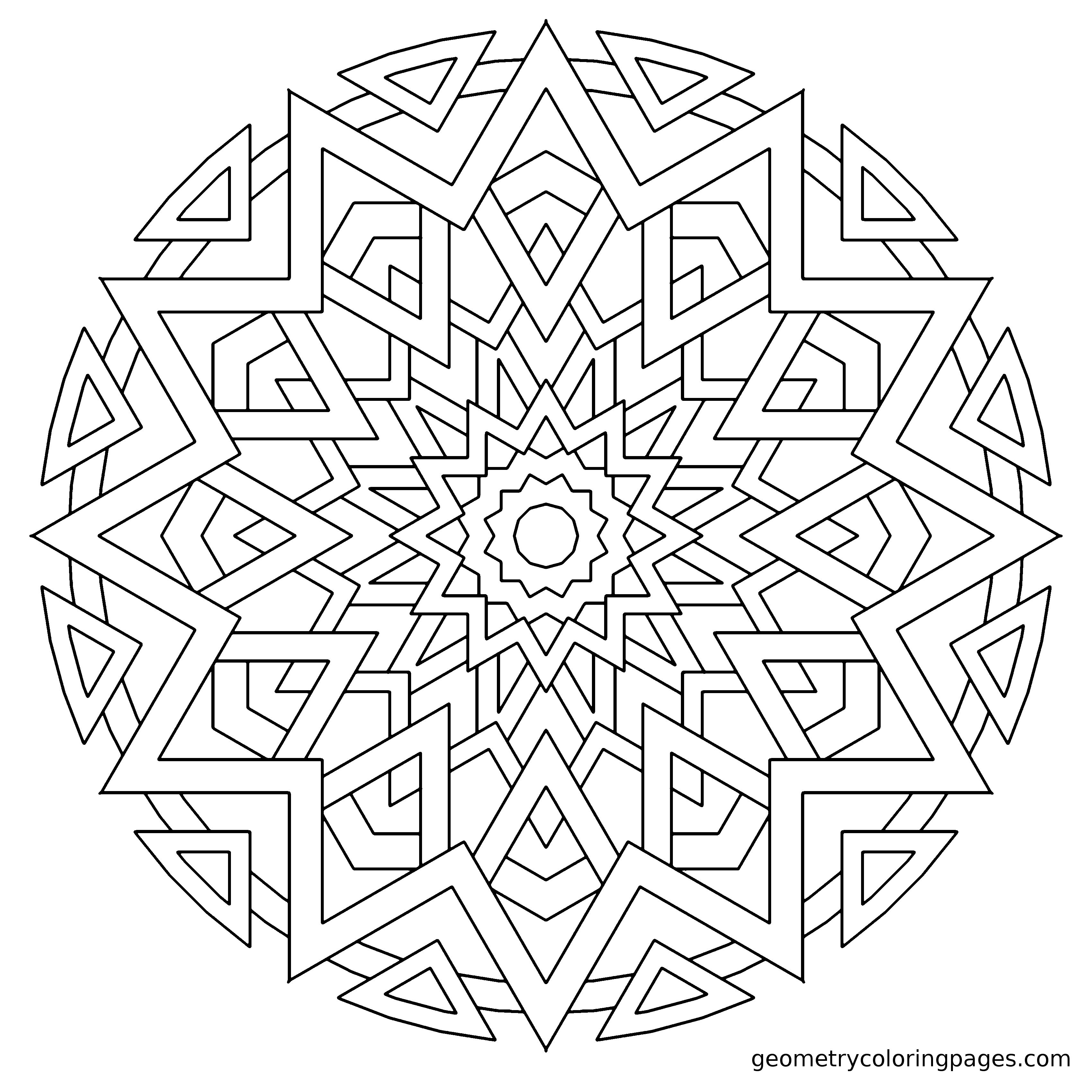 Fiesta geometrycoloringpages adult coloring pages for Fiesta coloring pages