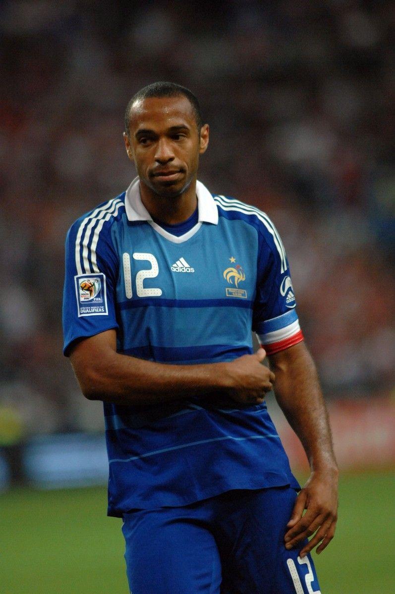 Thierry Henry a joué pour l'équipe nationale française