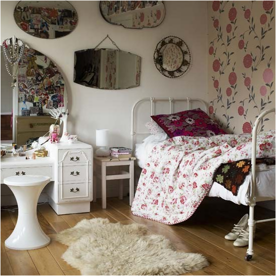 chambre fille ado vintage | chateau | Pinterest | Bedrooms, Room ...