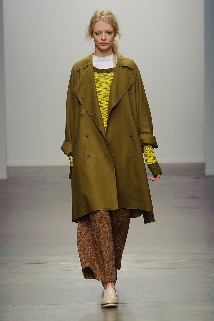 Fall 2013 Trends at New York Fashion Week. Modern Military  Karen Walker