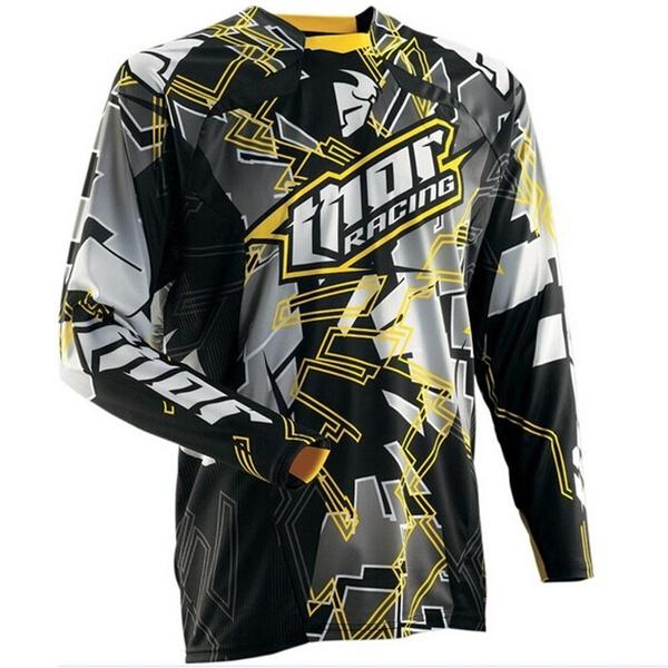 Download New Cool Fashion Men S Long Sleeve Element Racewear Dirt Bike Jersey Motocross Moto Apparel Jerseys Cycling Tops Cycling Tops Fishing Shirts Bike Jersey