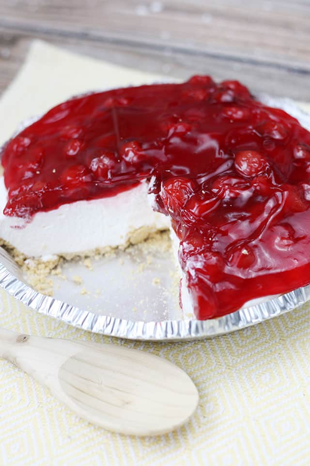 No Bake Cherry Cheesecake Video Post Mostly Homemade Mom Recipe In 2020 Easy Cheesecake Recipes No Bake Cherry Cheesecake Cherry Cheesecake