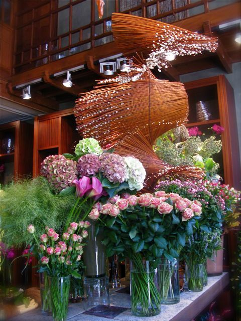 Daniel Ost, his Dutch flower shop. I so badly want to go to his shop ...