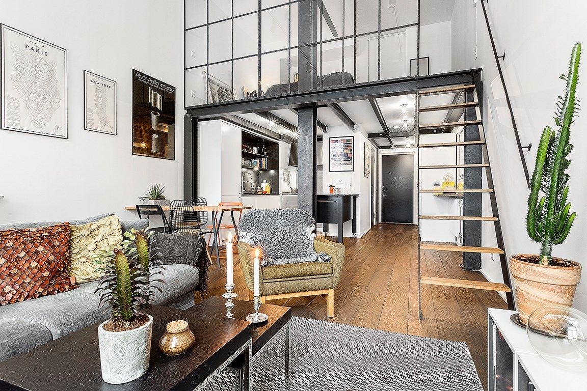 Un loft in ferro e vetro big house decoración de unas