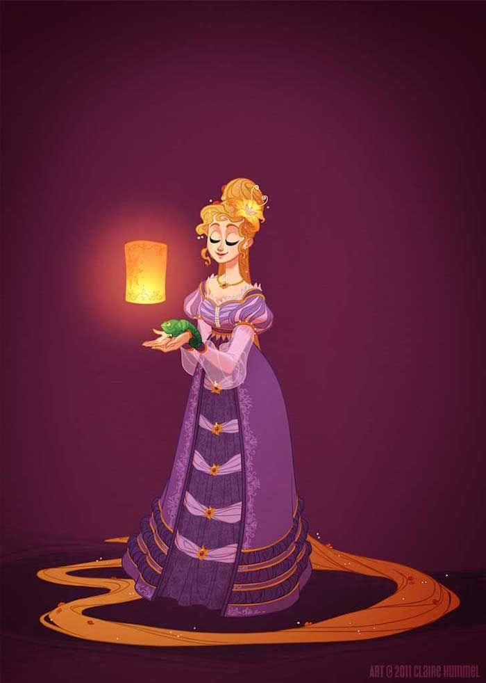 Rapunzel, 1820