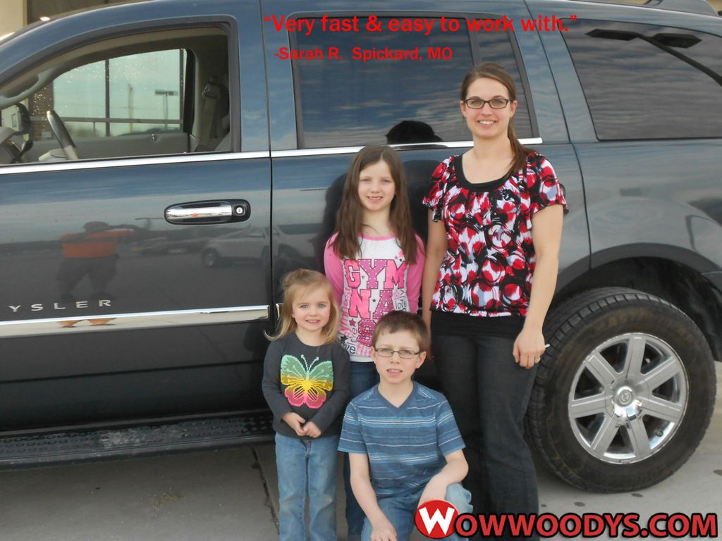 Sarah Rains from Spickard, Missouri purchased this 2008