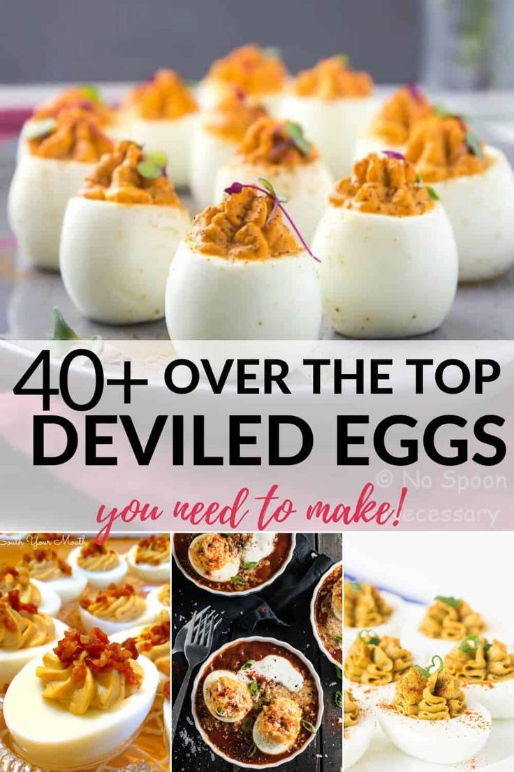 Over the Top Deviled Egg Recipes | It Is a Keeper