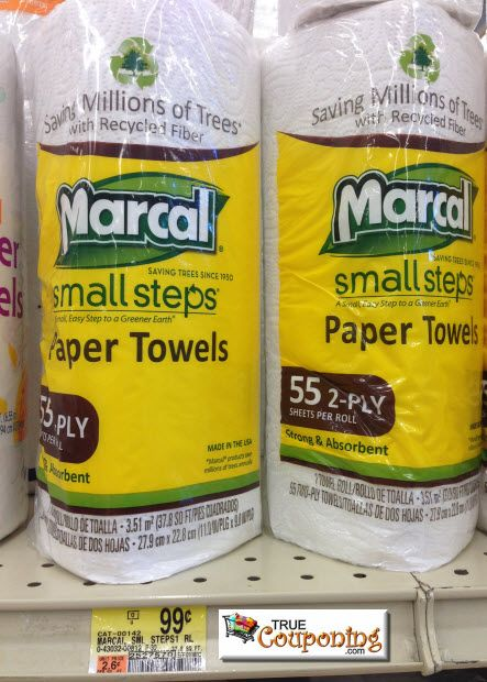 Free Marcal Paper Towels With 8 25 Mq The Recycling Process