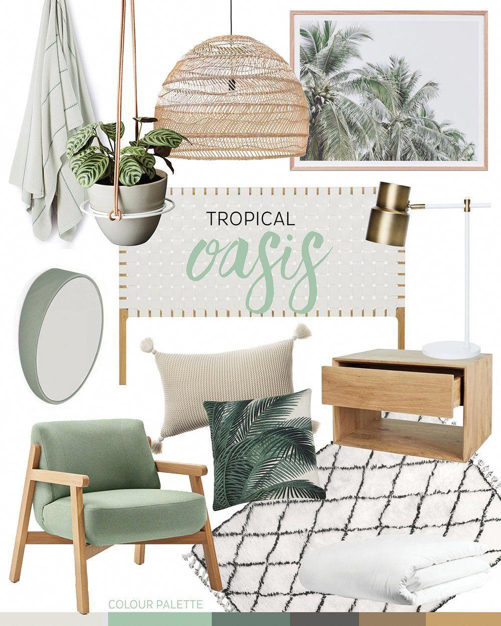 Trend Tropical Oasis Adore Home Magazine Coastallivingrooms Tropical Home Decor House And Home Magazine Home Decor