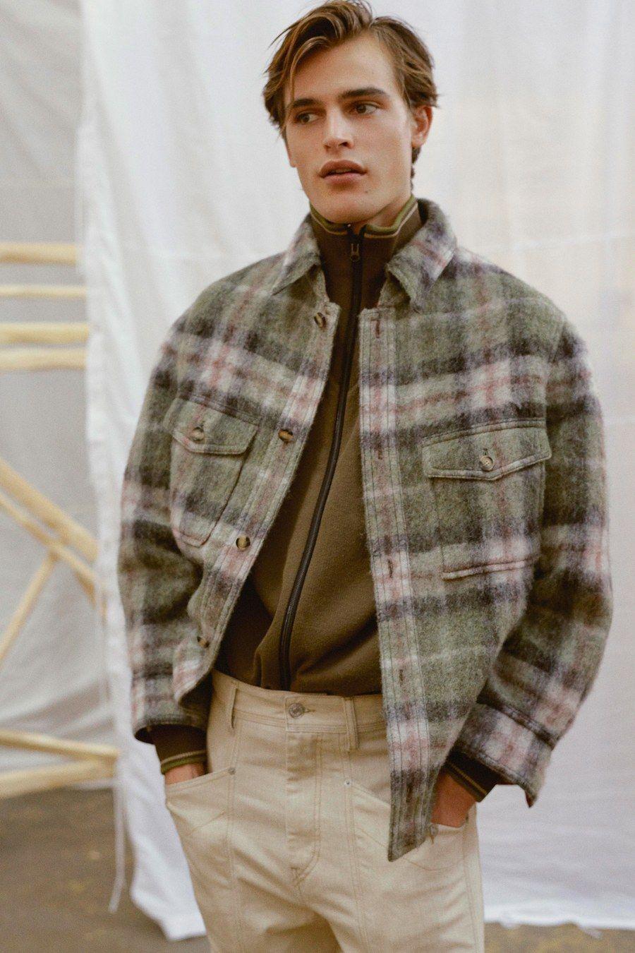 Isabel Marant Défilé Automne 2019 Mode Homme   – mine