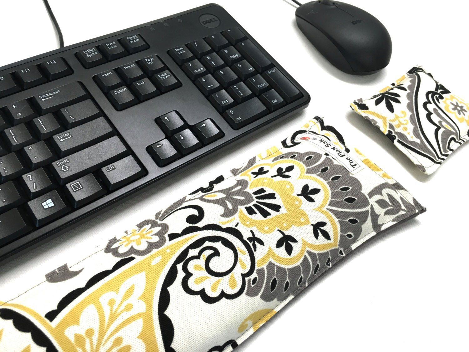 Keyboard Pad Mouse Pad - Christmas Gifts under 20 - Ergonomic Wrist Rest - Support Wrist Typing -Back to school ideas- carpal tunnel