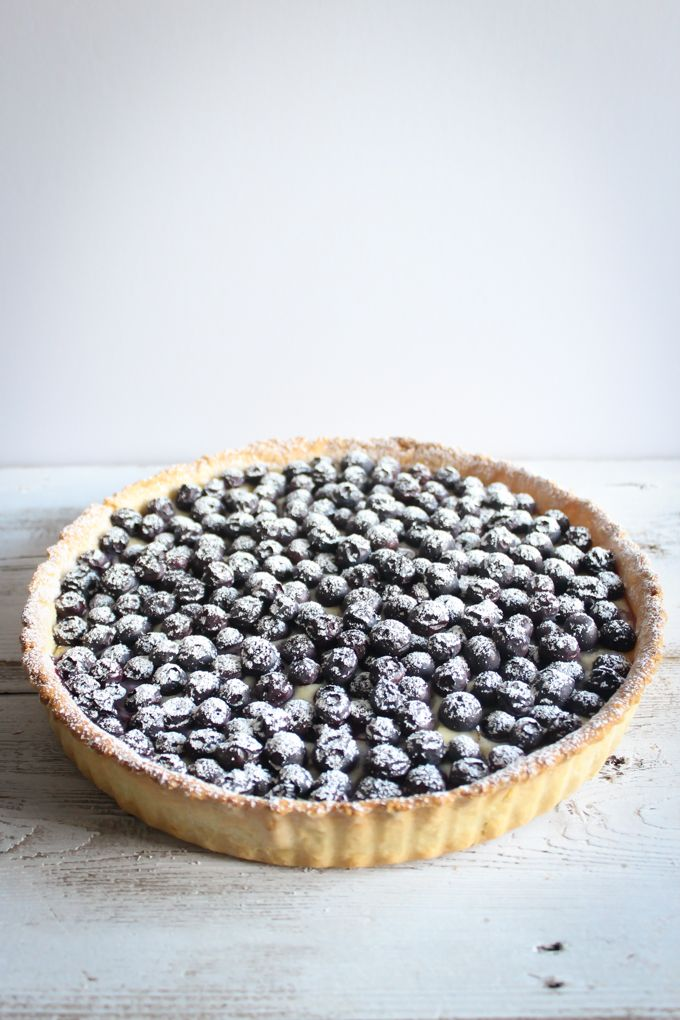 Blueberry Tart Tarte Aux Myrtilles The Foodie S Way Recipe Blueberry Tart Sweet Savory Food